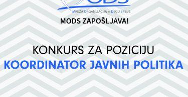 MODS konkurs za posao