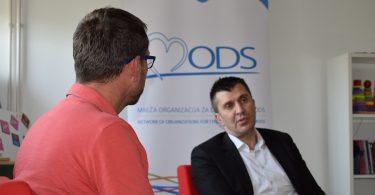 Ministar Zoran Đorđević u poseti MODS