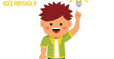 Light bulb idea. Bright and smart kid concept