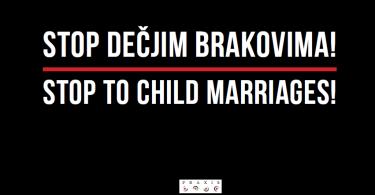 Stop dečjim brakovima